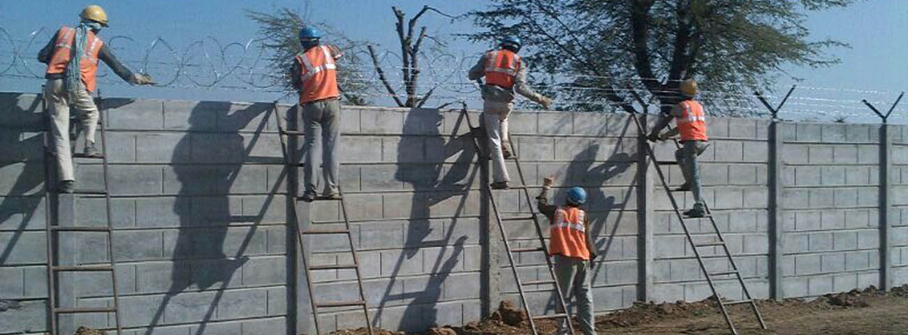 precast compound wall in bhopal MP